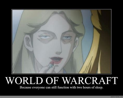 Warcraft Meme - world of warcraft anime meme com