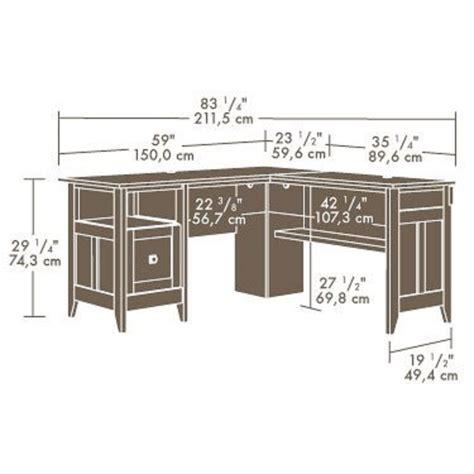 Sauder L Shaped Desk Dover Oak Finish by Sauder L Shaped Desk Dover Oak Finish Home Office