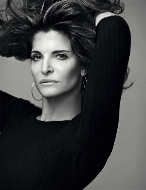 Stephanie Seymour Turns The Glam For Elle Spain Cover Shoot