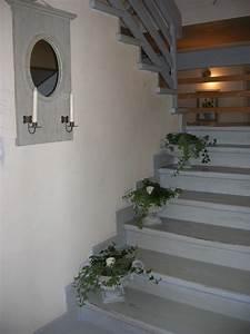 Peindre Escalier En Bois : peindre escalier bois en gris wd71 jornalagora ~ Dailycaller-alerts.com Idées de Décoration