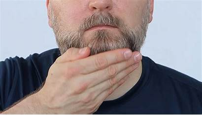 Beard Oil Apply Bottom Hands Both Beards