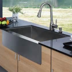 Kitchen Faucet Manufacturer Vg15003 Vigo Vg15003 Apron Front Stainless Steel Kitchen Sink With Vigo Vg02013 Faucet And