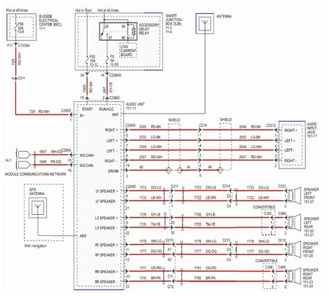 1977 Ford Radio Wiring Diagram by Ford Mustang Wiring Wiring Diagram