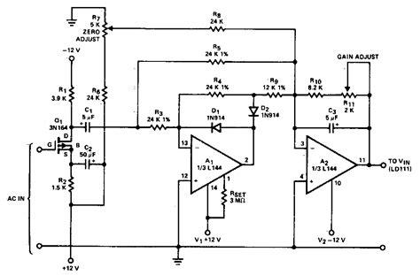 Converter Circuit Diagram Electronic