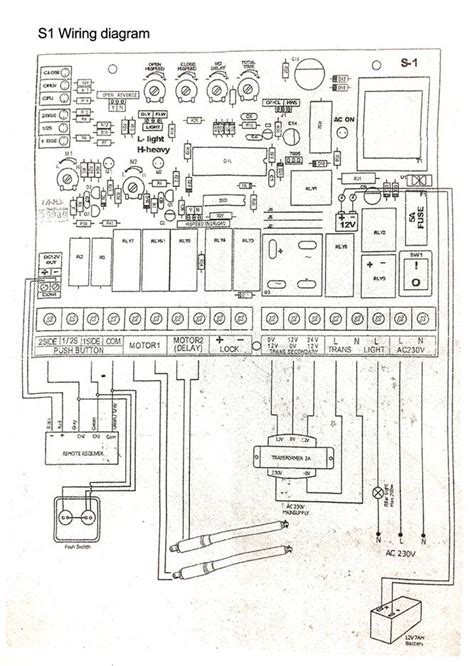 wiring diagram for auto gate auto gate wiring diagram 24 wiring diagram images