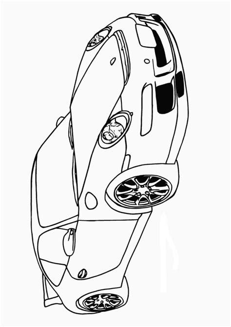 porsche zum ausmalen ausmalbilder auto bild porsche 911