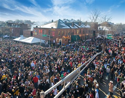 Soulard Mardi Gras. This Is Actually 1.5 Blocks From My