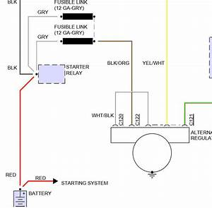 1994 Ford Explorer Alternator Diagram  Where Does The