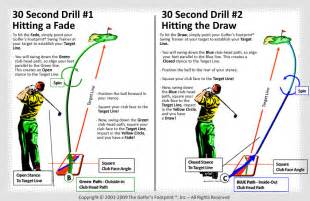 How to Draw and Fade Golf Shot