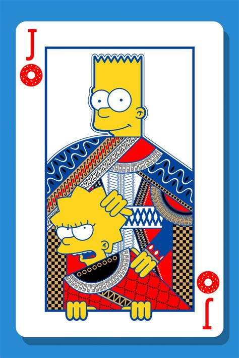 simpsons playing cards  blackout brother  world
