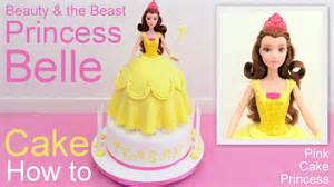 beauty and the beast cake topper disney princess doll cake how to by pink cake