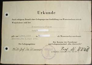 document of an waffen ss waterfinder With documents 5 ss