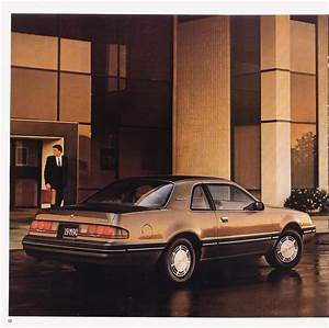 1987 Ford Thunderbird Brochure