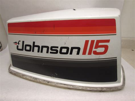 Boat Motor Covers Johnson 115 hp v4 top cowling motor cover assy johnson evinrude