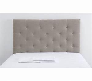Tete De Lit Lin : t te de lit tissu cm cliss lin t tes de lit but ~ Melissatoandfro.com Idées de Décoration