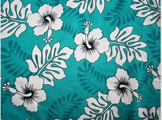 9 Best Images of Hawaiian Print Fabric Hawaiian Flower