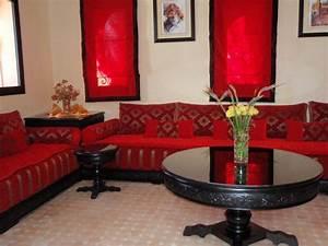 Salon Oriental Moderne : decoration salon marocain moderne 2017 ~ Preciouscoupons.com Idées de Décoration