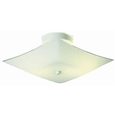 design house 2 light white ceiling light 501338 the home