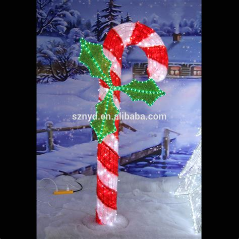 arrival christmas decoration lighted candy canes buy