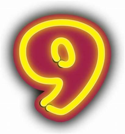 Nine Number Clip Clipart Clker Learn Svg