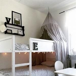 Lit Ikea Double : lit enfant double ikea d co pinterest lit enfant ikea et lits ~ Teatrodelosmanantiales.com Idées de Décoration