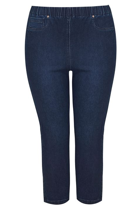 Date Post Jenny Template Responsive by Dark Blue Cropped Jenny Jeggings Plus Size 16 To 36