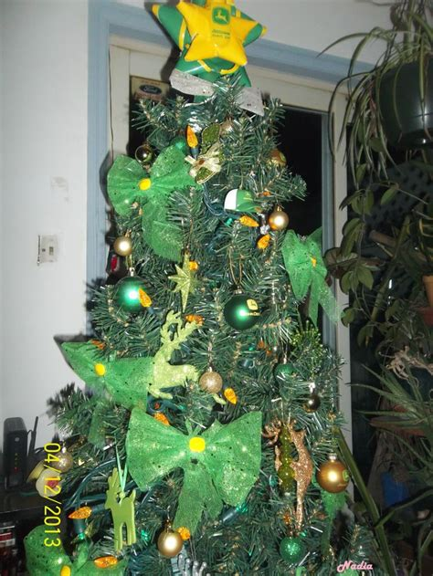john deere christmas tree by nadia my john deere