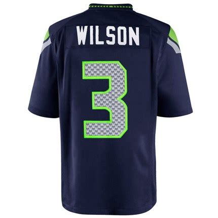 seahawks russell wilson child nfl nike game jersey pro
