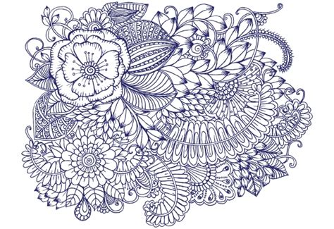 HD wallpapers coloring pages simple flower