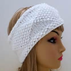 Knit Headband Ear Warmer Pattern