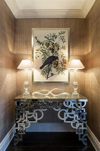 Contemporary Hall Modern Mirrored Neutral Table Hgtv
