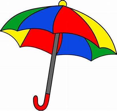 Umbrella Clipart Simple Colorful Clip Graphics Sweetclipart
