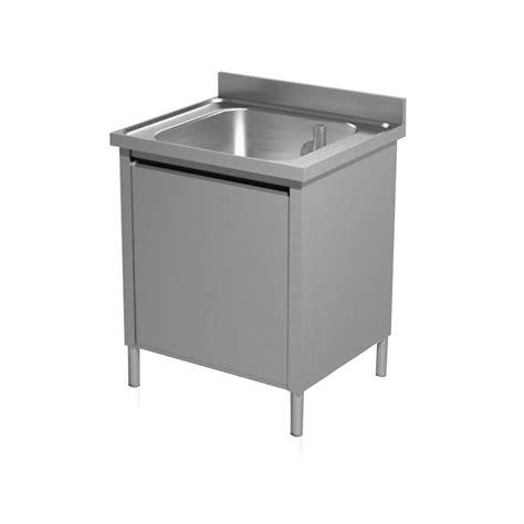 lavello professionale lavello professionale acciaio inox una vasca anta battente