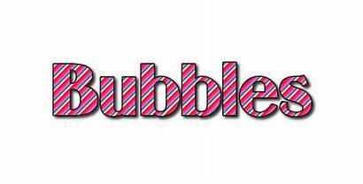 Bubbles Stripes Logos Text Flamingtext