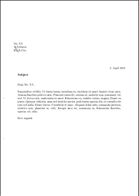 how to end a letter to a friend horizontal alignment align letter in scrlttr2 with 50594