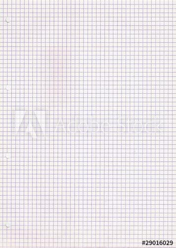 """Ce générateur permet de créer une feuille à petits carreaux sous forme de fichier pdf. """"Feuille petits carreaux"""" photo libre de droits sur la banque d'images Fotolia.com - Image 29016029"""