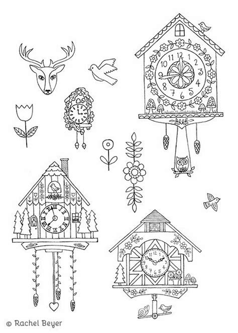 cuckoo clocks | Clock craft, Cuckoo clock tattoo, Clock