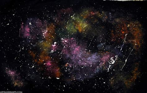 Artisan Des Arts Outer Space Nebulagalaxy Paintings