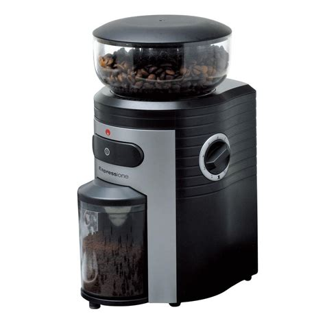 Espressione Conical Burr Coffee Grinder5198  The Home Depot