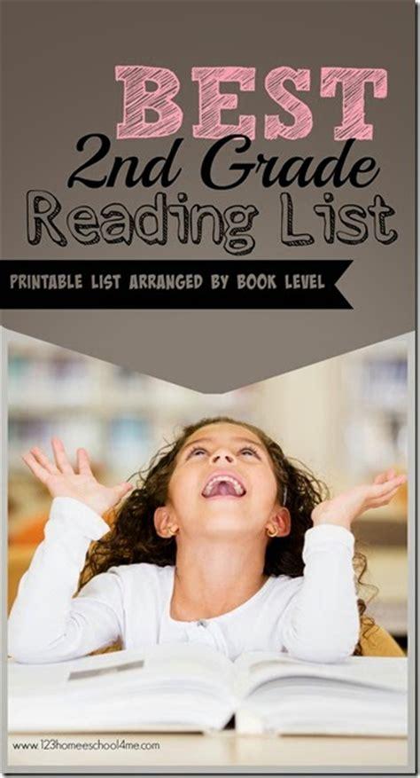 printable  grade reading list  homeschool