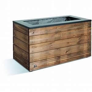 Jardinière En Hauteur : jardini re en bois 133 litres 45 x 90 cm hauteur 47 ~ Nature-et-papiers.com Idées de Décoration