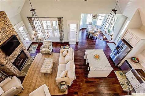cottage style house plan screened porch  max fulbright designs