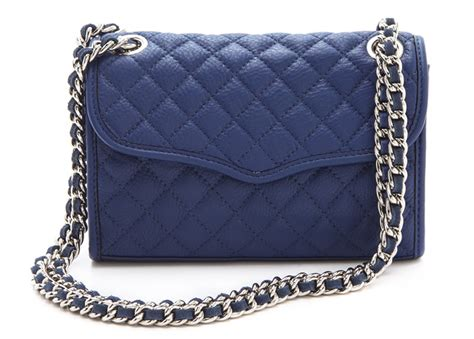 minkoff quilted affair these dozen bags prove that navy might be the next big