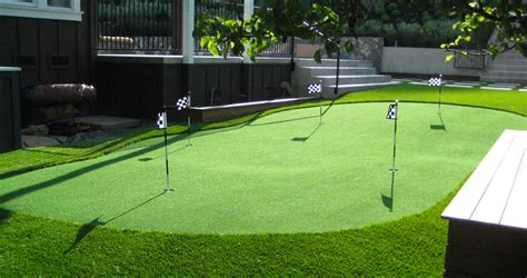 Backyard Putting Green Cost For Installation