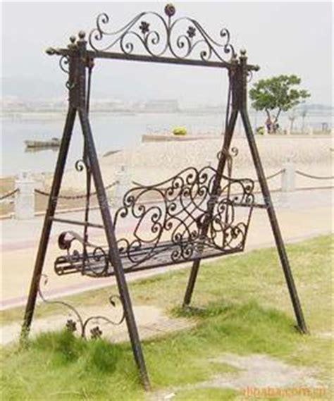fashion wrought iron furniture wrought iron garden swing