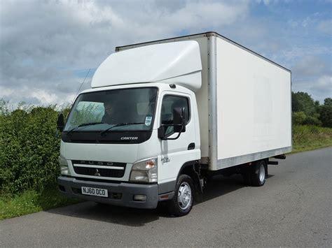 Mitsubishi Box Trucks by Mitsubishi Canter 3c 75 4 X 2 Box