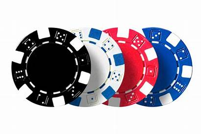 Poker Chips Casino Transparent Clipart Cards Chip