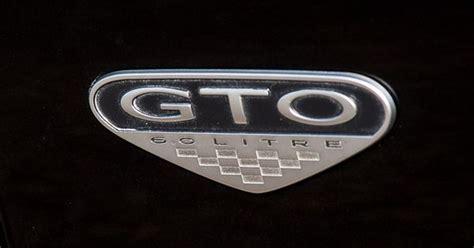 2005 Pontiac Gto Side Emblem.