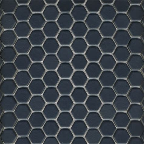 1 quot hex tile in matte black tilehaus for the home