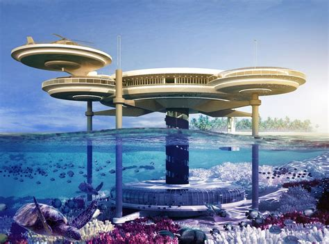 Awesome Underwater Hotel In Dubai The Water Discus by Four Most Beautiful Underwater Resorts In The World